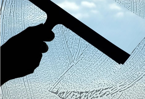 Window cleaning, residential windows