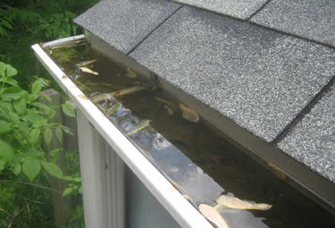Cleaning of Gutters